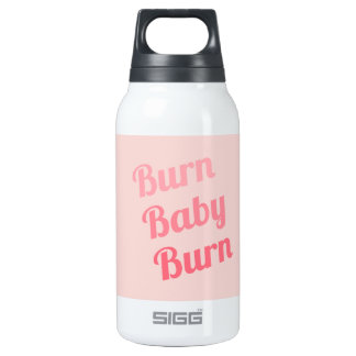 Exercise Motivation Burn Baby Pink 0.3L Insulated SIGG Thermos Water Bottle