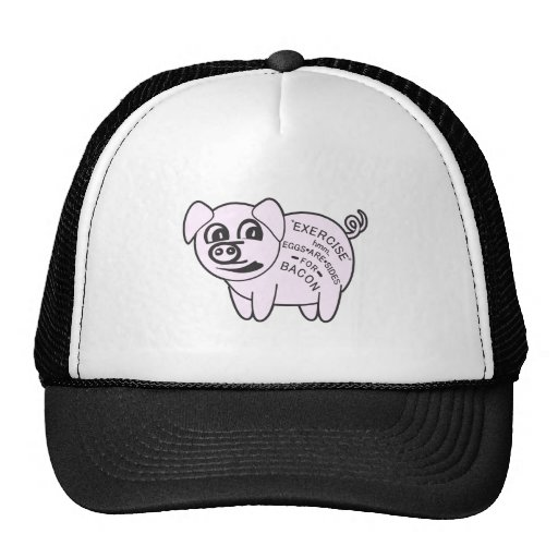 Exercise Pig Hats