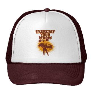 Exercise Your Demons Trucker Hats