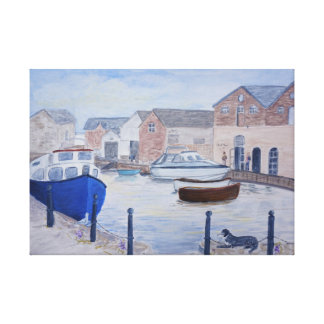 Exeter Quay Devon UK Canvas Print
