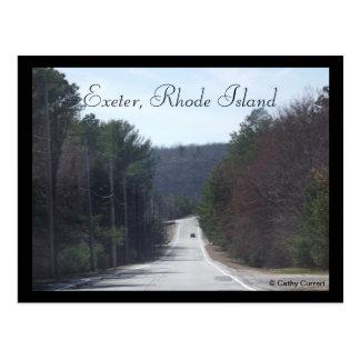 Exeter, Rhode Island Postcard