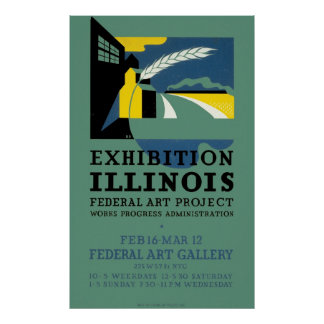 Exhibition of Illinois Poster