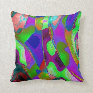 """Exhilarating"" Polyester Throw Pillow 16"" x 16"""