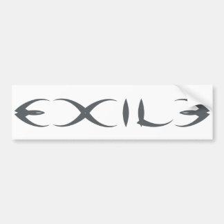 Exile Bumper Sticker