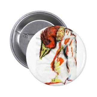 Existential Phoenix 6 Cm Round Badge