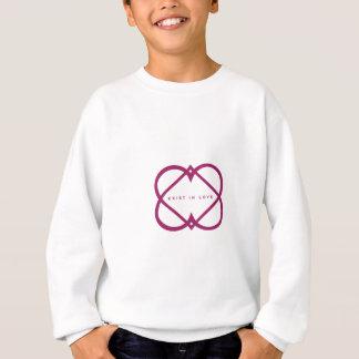 existinlove-logo-01 sweatshirt