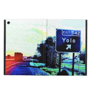 Exit 542 Yolo California iPad Air Cases