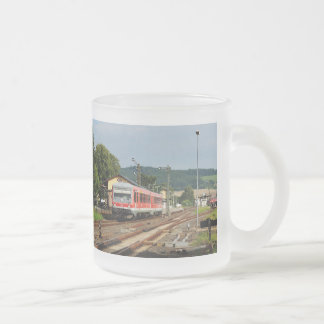 Exit from Glauburg Stockheim Frosted Glass Coffee Mug