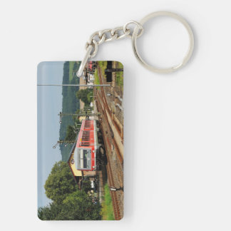 Exit from Glauburg Stockheim Key Ring