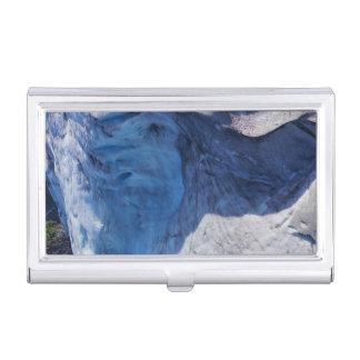 Exit Glacier Waves Business Card Holder