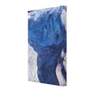 Exit Glacier Waves Canvas Print