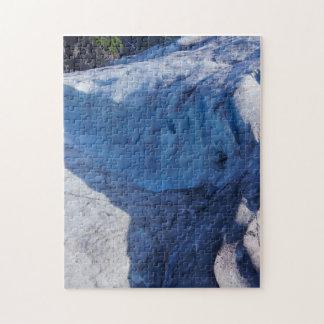 Exit Glacier Waves Jigsaw Puzzle