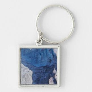 Exit Glacier Waves Key Ring