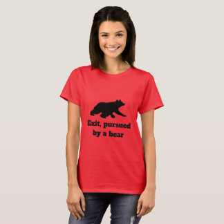 Exit, Pursued by a Bear - Shakespeare Shirt