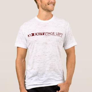 EXIT Stage Left Men's Vintage White T-Shirt