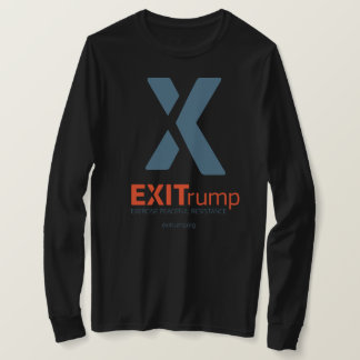 EXITrump Women's Long Sleeve Tee