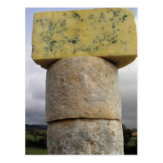Exmoor Blue Cheese, Lydeard St Lawrence, Somerset Postcard