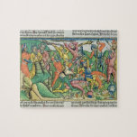 Exodus 17 8-15 Aaron and Hur support Moses' hands Jigsaw Puzzles