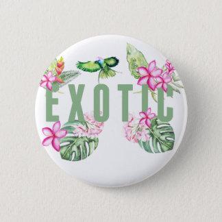Exotic 6 Cm Round Badge