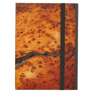 EXOTIC ALLIGATOR BURLWOOD JUNIPER IMAGE iPAD CASE