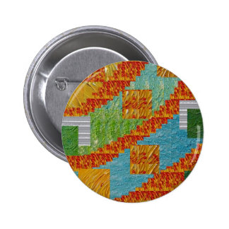 Exotic Art Collage Decoration by NavinJOSHI NVN47 6 Cm Round Badge