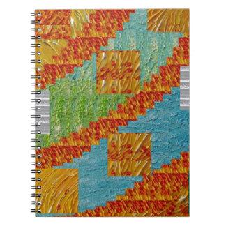 Exotic Art Collage Decoration by NavinJOSHI NVN47 Spiral Notebooks