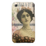 Exotic Beauty Digital Collage Art iPhone 3 Case-Mate Cases