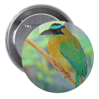 Exotic Bird Button