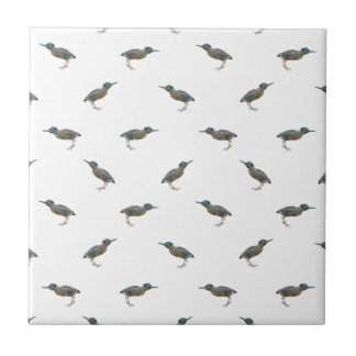 Exotic Birds Motif Pattern Ceramic Tile