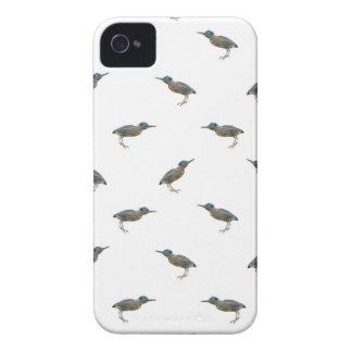 Exotic Birds Motif Pattern iPhone 4 Case-Mate Cases