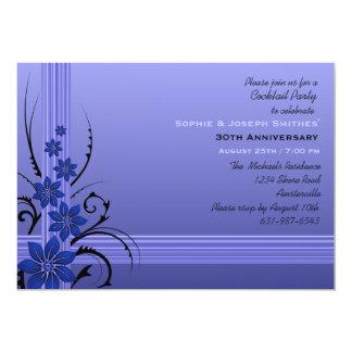 "Exotic Blooms Invitation 5"" X 7"" Invitation Card"