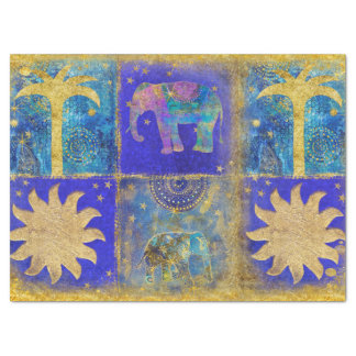 Exotic Blue Tissue Paper