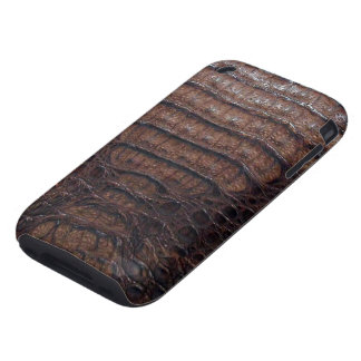 Exotic Brown Alligator Skin #3 Tough iPhone 3 Covers