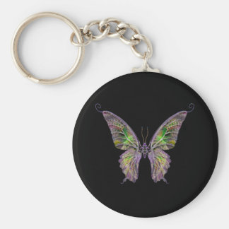 Exotic Butterfly Keychain