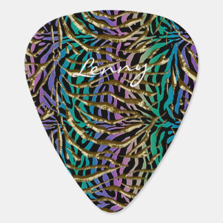 Exotic Fantasy Animal Print Plectrum