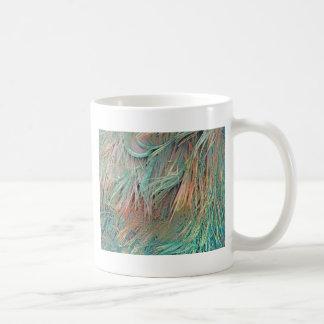 exotic feathers coffee mug