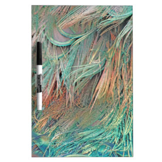 exotic feathers dry erase board