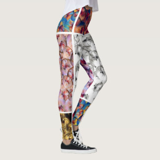 Exotic fruit gallery leggings