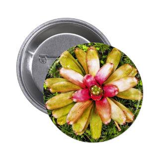 Exotic Garden Flower Button