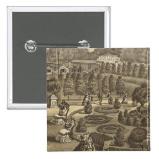 Exotic Gardens & Nurseries in New Jersey 15 Cm Square Badge