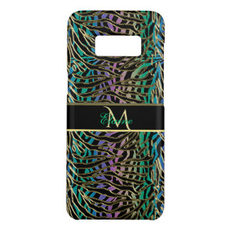 Exotic Gilded Space Alien Animal Print Case-Mate Samsung Galaxy S8 Case