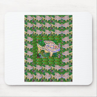 Exotic GOLD Fish Artistic work by Navin Joshi GIFT Mouse Pad