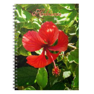 Exotic HIbiscus Notebooks