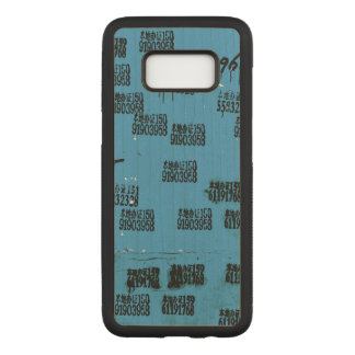 Exotic Hip One-of-a-kind Carved Samsung Galaxy S8 Case