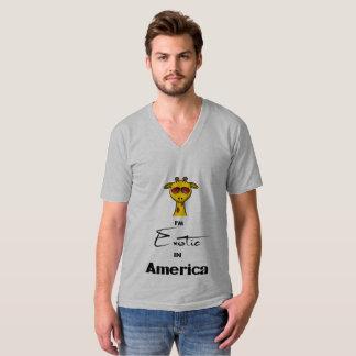 Exotic in America Mens V-Neck Shirt