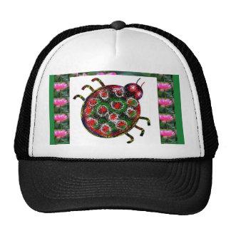 EXOTIC Ladybug Graphic Art Cap