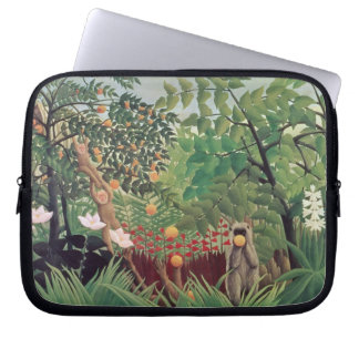 Exotic Landscape, 1910 Laptop Sleeve