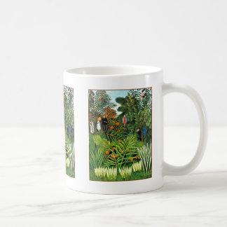 Exotic Landscape   (Paysage Exotique) Coffee Mug
