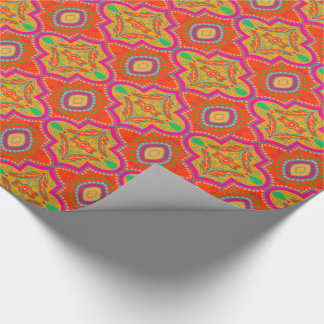 Exotic lattice wrapping paper
