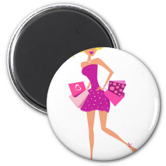 EXOTIC MODEL GIRL Creative t-shirts Magnet
